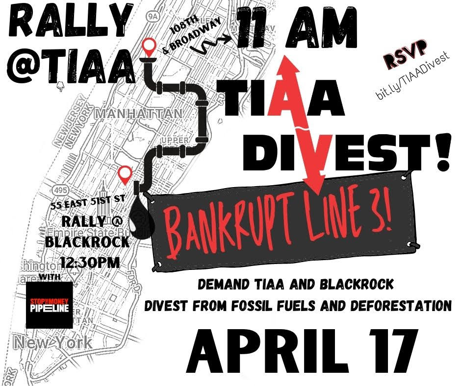 Rally in NYC April 17!